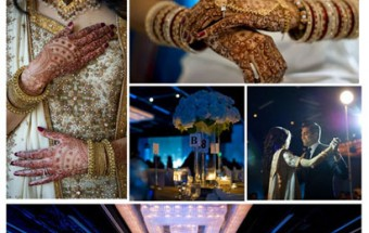 priyanka + sachin - Featured on IndianWeddingSite!