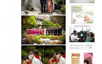 tasneem + abhi – Featured on Maharani Weddings!