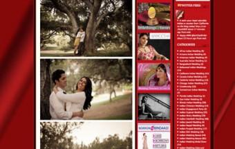 ami + nikhil – Featured on IndianWeddingSite!