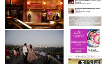 sonal + amit – Featured on MaharaniWeddings!