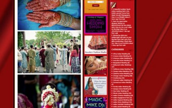 aparna + kunal – Featured on Indian Wedding Site!