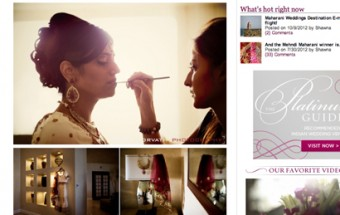 ami + nikhil - Featured on Maharani Weddings!