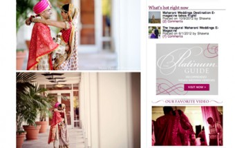 payal + sameer – Featured on Maharani Weddings!
