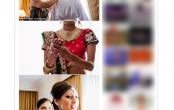 Sonia + Vishal published on Maharani