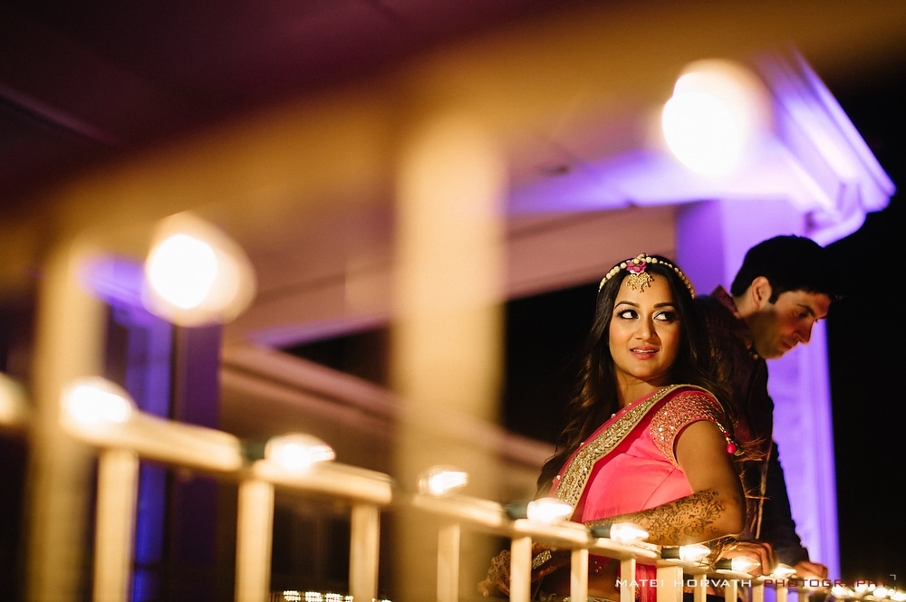 bride and groom portraits during pre wedding events
