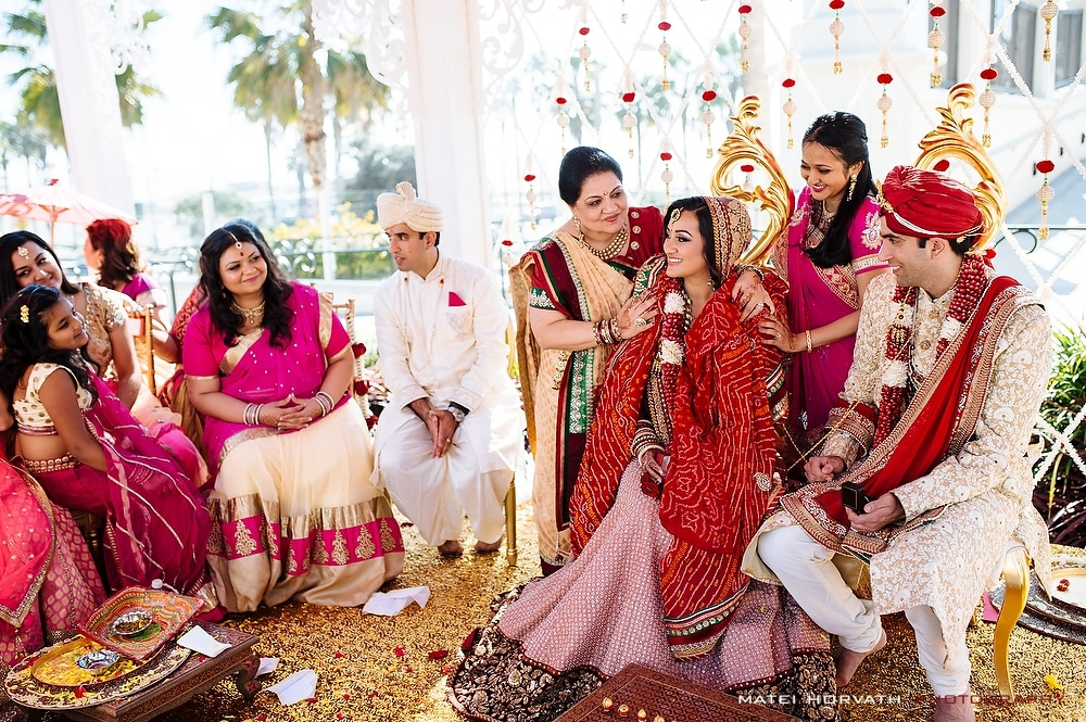 Hyatt Regency Huntington Beach Indian Wedding Ceremony