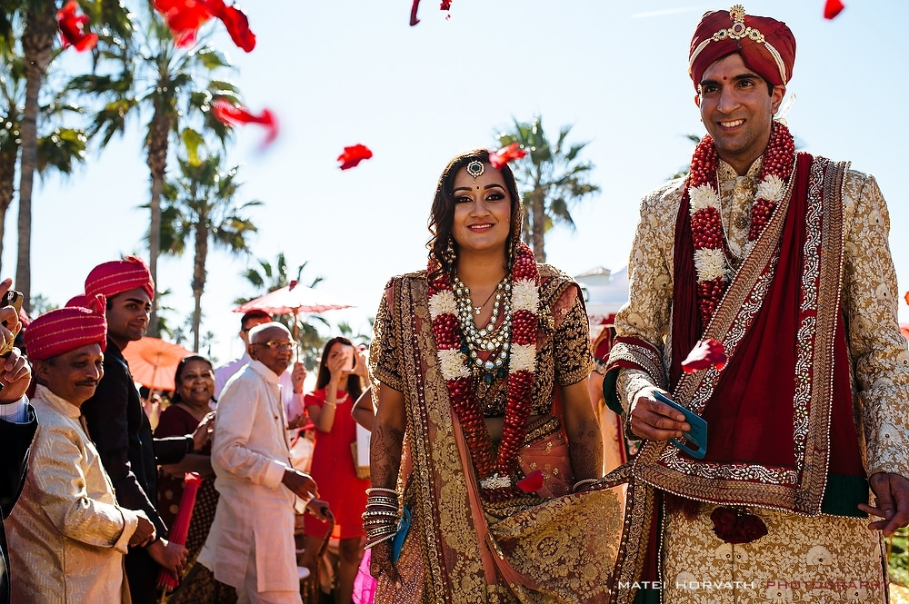 Hyatt Regency Huntington Beach and Ashish and Siddhi Indian Wedding Ceremony