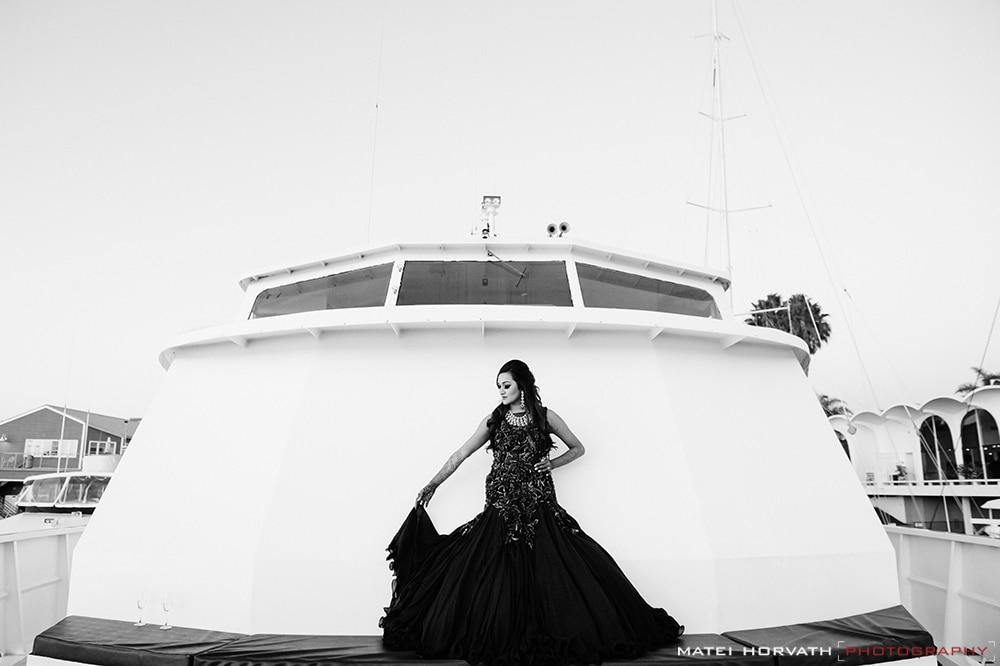 Siddhi on the yacht