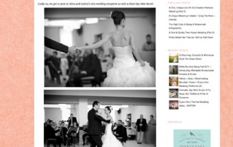 alina + andrei – Featured on Bridal Musings!