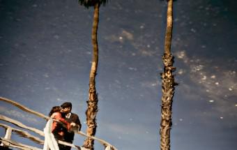 Santa Monica & Venice Canals Engagement Session: devaki + matt