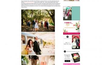 amy + max saddlerock ranch wedding featured on DIY Bride!