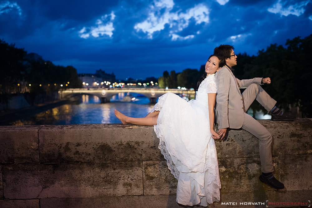 Lisa and Duc Portraits in Paris