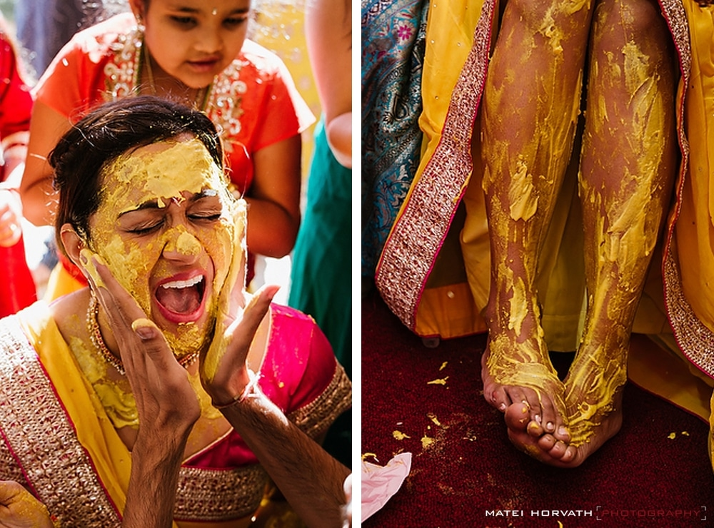 Pitthi for the future bride!