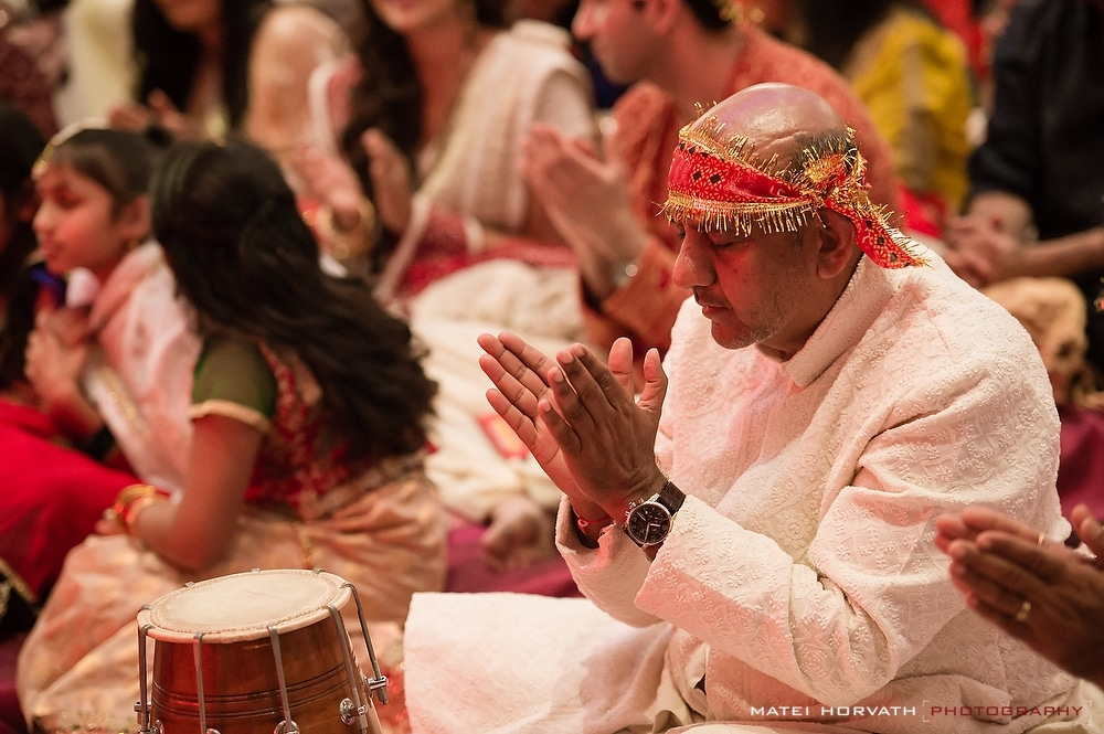 Indian devotional Bhakti with singing and dancingg