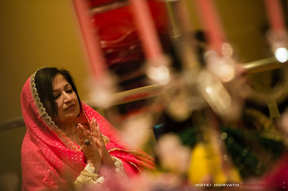 Indian devotional Bhakti with singing and dancing at Siddhi and Ashish's Pre Wedding events