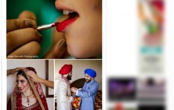 Boston and Long Island Wedding: banni + kb featured on Maharani Weddings